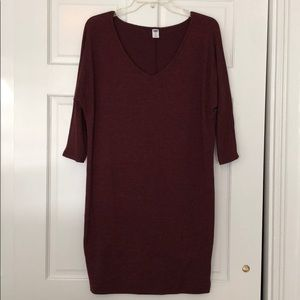 Old navy sweater dress, size XS